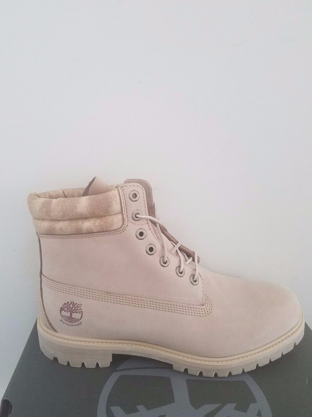 Timberland Men's 6-Inch Premium  Waterproof Tan Boots NIB
