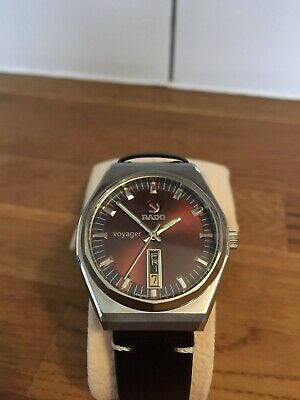 Vintage Rado Voyager Mechanical Automatic Men's Watch