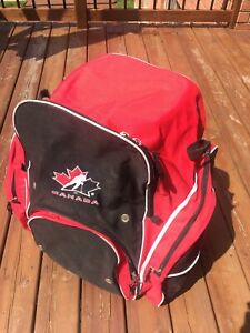 Canada backpack style Hockey bag