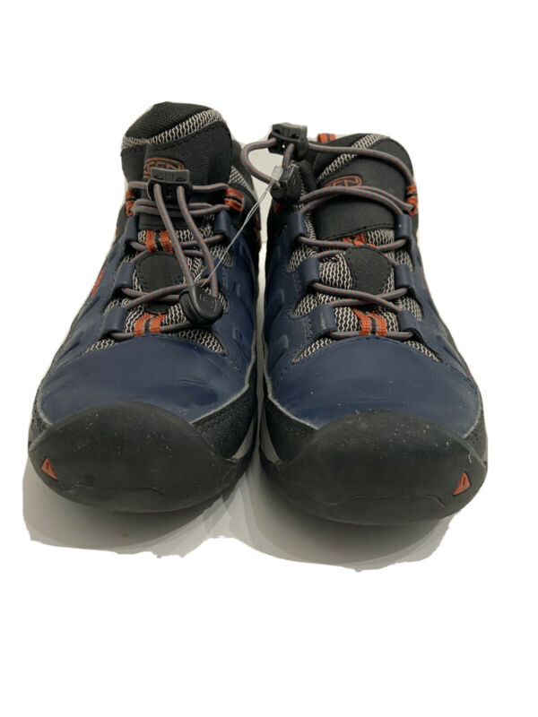 KEEN Targhee Hiking Boot Low Top Child/Youth/Unisex Blue/Orange Size 5