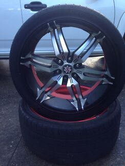 "22"" alloy rims  Wentworth Falls Blue Mountains Preview"