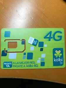 Costa Rica pay as you go SIM card $15