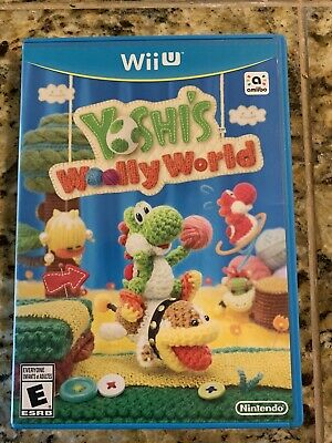 Yoshi's Woolly World Nintendo Wii U- FAST SHIPPING