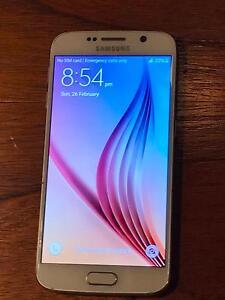 Samsung Galaxy S6 - White Pearl 32GB Hobart CBD Hobart City Preview