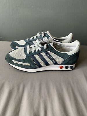 adidas L.A. Trainer - Size 7.5 Blue Green Grey