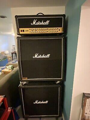 Marshall JVM410H 100 watt Guitar Amp W/2 1060A 4x12 Speaker Cabinets - Mint!!!