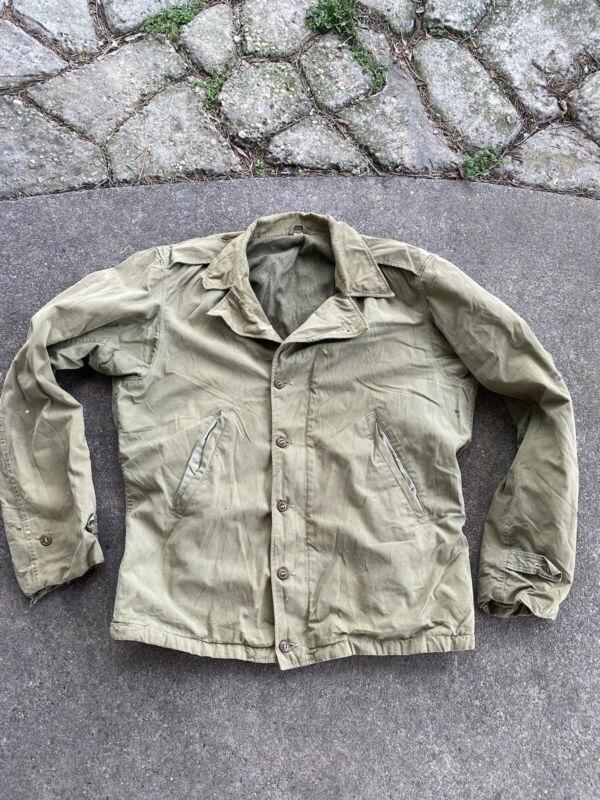 WW2 US M41 Field Jacket Size 36L Named (VB2658