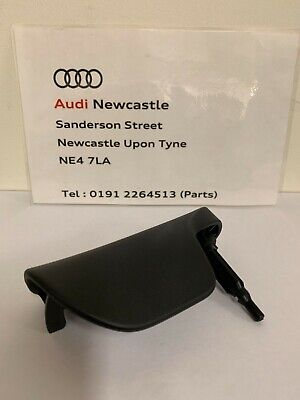 Genuine Audi TT Mk2 black bonnet release handle 8J2823533B/8J2823533C 2007>2014