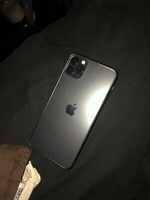 iphone 11 pro max Grey unlocked 256gb