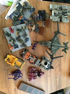 Lot of Halo mega blocks used as is
