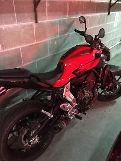 Yamaha MT07 LAMS Woolloomooloo Inner Sydney Preview