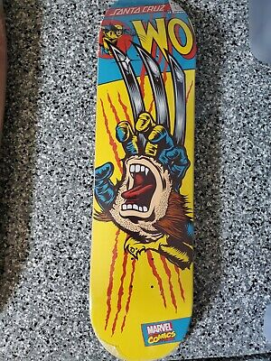Wolverine Santa Cruz Marvel Skateboard Deck