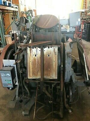 Chandler Price Printing Press