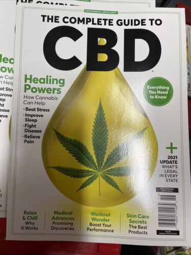 CBD The Complete Guide SLEEP BETTER LESS ANXIETY MAY 2021  - $7.20