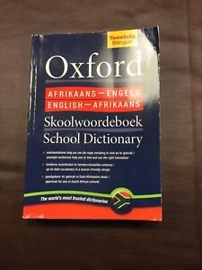 Oxford Bilingual Dictionary- English-Afrikaans