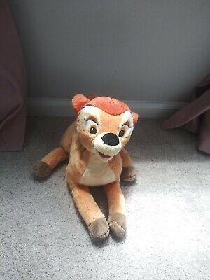 Genuine Original Authentic Bambi Plush Deer Disney Store Soft Stuffed toy kids