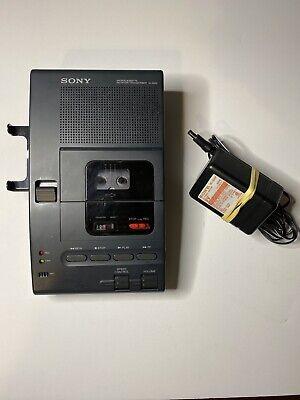 Vintage Sony Handheld Microcassette Dictator Transcriber Recorder M-2020