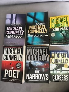 Michael Connelly- various books