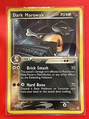 Pokémon TCG Dark Marowak EX Team Rocket Returns 7 Holo Holo Rare