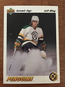 Jaromir Jagr 1991-1992 Upper Deck NHL Hockey Card
