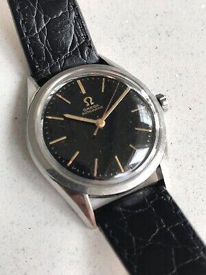 OMEGA SEAMASTER De luxe 1954 - Vintage Swiss Watch.