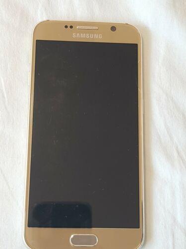 Android Phone - Samsung Galaxy S6 5.1in. 32GB 3GB RAM Unlocked Smartphone - Gold Platinum