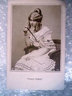 Postcard- Actress MARIA WEST