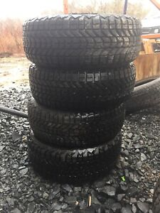 Four new 205/55r16 firestone winter force winter tires $300