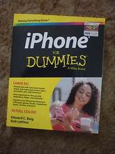 iPhone for Dummies 2015 book very good condition Panorama Panorama Mitcham Area Preview