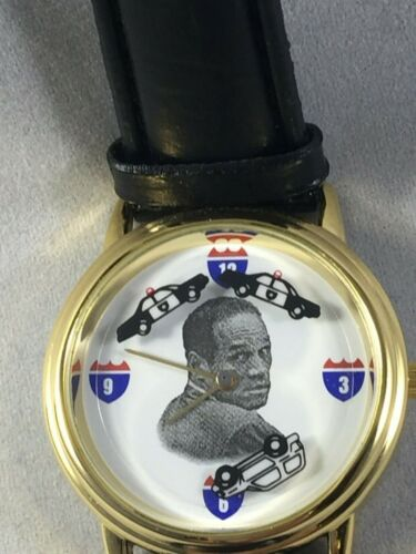 Collectible O.J. Simpson Bronco Police Chase Watch 1994 Never Worn