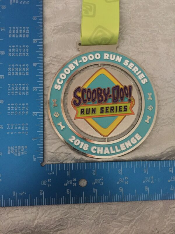 Scooby Doo  2018 Challenge Medal With Spinning Center