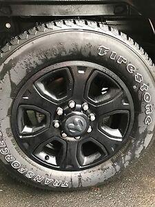 LT 285/60/20. Firestone transforce at tires