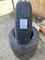 Set of 4 - 215/60/16 Michelin X Ice Tires
