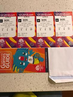 Commonwealth games swimming tickets