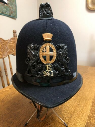 RARE BRITISH CITY OF LONDON POLICE HELMET