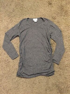 Oh Baby by Motherhood Maternity Light Weight Ruched Sweater - Size Medium