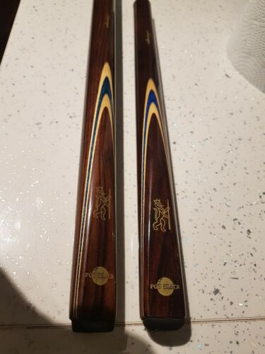 Lovely Condition Pot Black 3/4 Cue With Extension