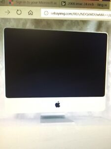 iMac 24 inch  - needs OS loaded and configuration
