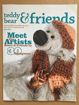 Teddy Bear And Friends Magazine July 2017 issue, new!