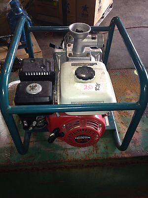 Itt Marlow 2mlth 5.5hp Honda Gas Powered Water Pump