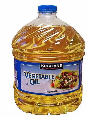 Kirkland Signature Vegetable Oil 2.84 L (3 Quart)