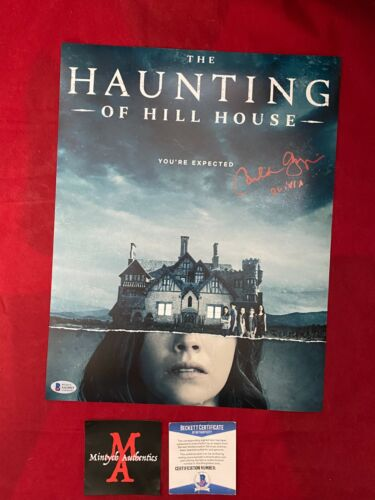 CARLA GUGINO AUTOGRAPHED SIGNED 11x14 PHOTO! THE HAUNTING OF HILL HOUSE! BECKETT