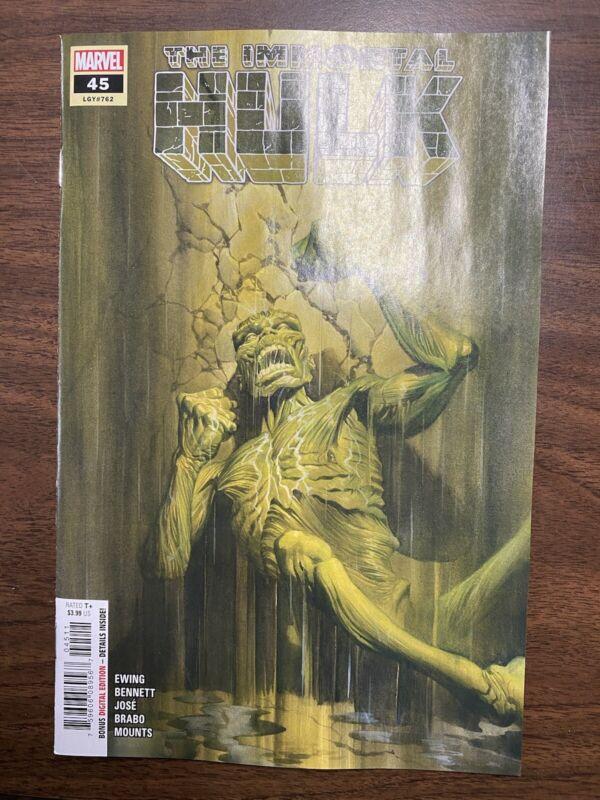Immortal Hulk 45 Main Cover Never Read