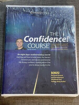The Confidence Course Audio Training Course by MJ Durkin Brand New Sealed
