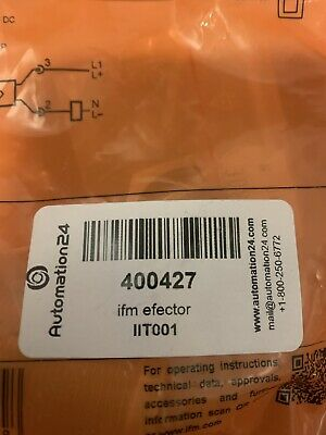 Inductive Sensor Ifm Efector Iit001