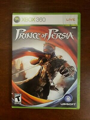 XBOX 360 Video Game PRINCE OF PERSIA Limited Edition w/Bonus DVD for sale  Shipping to India