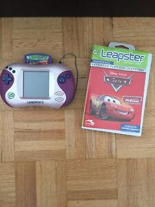 Uesd Working Leapster 2 Pink + Cars game