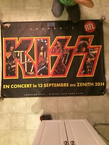 KISS vintage oversize poster
