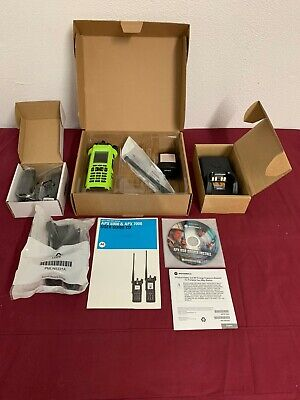 New Motorola Apx7000 Uhf 1 Vhf P25 Digital Handheld Radio Tdma Aes-256 Gps