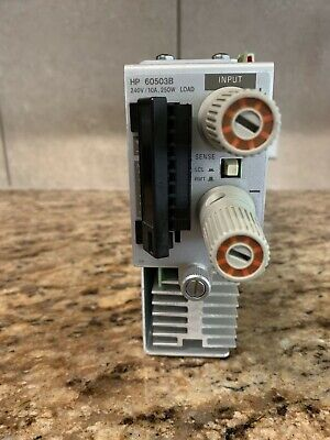 Hp - Agilent - Keysight 60503b Dc Electronic Load Module 240v 10a 250w